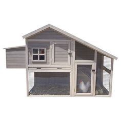 Found it at Wayfair - Extreme Cape Cod Chicken Coop with Nesting Box & Roosting Bar http://www.wayfair.com/daily-sales/p/Small-Pet-Supplies%3A-Habitats-%26-More-Extreme-Cape-Cod-Chicken-Coop-with-Nesting-Box-%26-Roosting-Bar~PNP1218~E16489.html?refid=SBP.rBAZEVMXvPZfqyHoPRLfAuT432k6h0JOoHHn677mltI