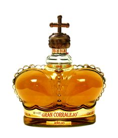 I can't stand tequila. but I had to have this bottle - Gran Corralejo Tequila Bottles, Alcohol Bottles, Liquor Bottles, Perfume Bottles, Wine And Liquor, Wine And Beer, Distilled Beverage, Kakao, Scotch Whisky
