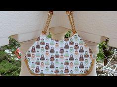 Bolsa em tecidos Matrioska - Maria Adna Ateliê - Aula de bolsas em tecido - Bolsa tecido - YouTube