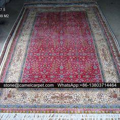 5ftx7.5ft silk carpet,handmade