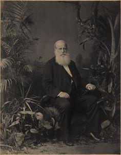Retrato de Pedro II, Imperador do Brasil, em 1883 no Rio de Janeiro (Foto…
