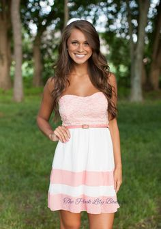 The Pink Lily Boutique - Charming To Meet You Belted Dress Pink, $39.00 (http://thepinklilyboutique.com/charming-to-meet-you-belted-dress-pink/)