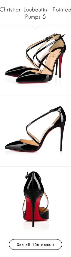 Designer Clothes, Shoes & Bags for Women Black Court Shoes, Black Patent Leather Pumps, Leather Shoes, Black Shoes, Cross Shoes, Red Sole, Designer Heels, Christian Louboutin Shoes, Me Too Shoes