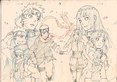 Find images and videos about anime, naruto and hinata on We Heart It - the app to get lost in what you love. Naruhina, Anime Naruto, Naruto Fan Art, Naruto Shippuden Sasuke, Naruto Und Hinata, Hinata Hyuga, Naruto Drawings, Naruto Sketch, Anime Sketch