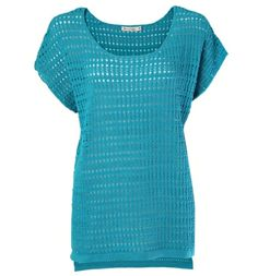 scoop neck crochet cover-up from rickis.com