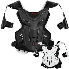 EVS Protective Gear Street Motorcycle F2 Roost Chest Protector Adult