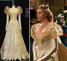 Charlize-Theron-costume-from-Snow-White-movie-designed-by-Colleen-Atwood