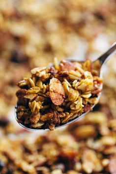 Favorite Pumpkin Granola Recipe - Pinch of Yum