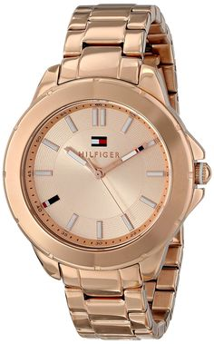 4a6beedd20 Tommy Hilfiger Women's 1781414 Analog Display Quartz Rose Gold Watch ***  Click image for