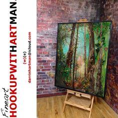 Online Art Gallery selling original art Calgary Artist Darrin Hartman - darrinHARTMAN