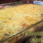 Cheeseburger Quiche is a low carb favourite from Keto Recipes! It really tastes like a cheeseburger! Keto Quiche, Quiche Recipes, Diabetic Recipes, Low Carb Recipes, Beef Recipes, Cooking Recipes, Beef Meals, Healthy Recipes, Banting Recipes