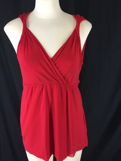Sweet Pea by Stacy Frati Top Shirt Blouse Women's Red S Nylon | Clothing, Shoes & Accessories, Women's Clothing, Tops & Blouses | eBay!