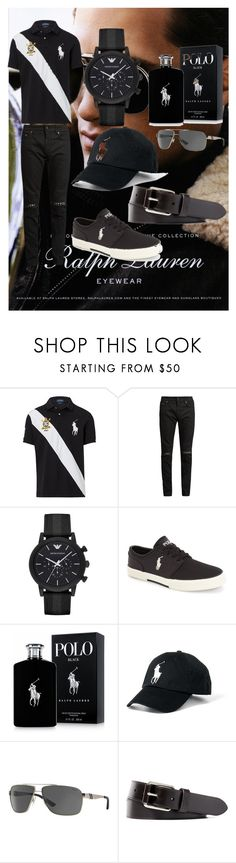 """Ralph Lauren No.1"" by mkfashionfactory ❤ liked on Polyvore featuring Ralph Lauren, Yves Saint Laurent, Emporio Armani, Polo Ralph Lauren, men's fashion and menswear"