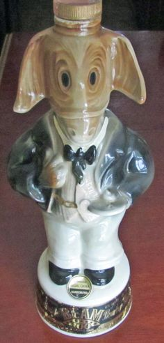 Jim Beam Decanter Republican Party  Donkey by Fraservalleyjewels