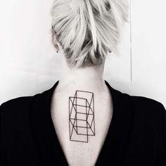 The geometric tattoos of Malvina Maria Wisniewska