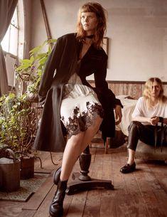 Irina Kravchenko, Steph Smith by Sebastian Kim for Vogue Russia March 2016