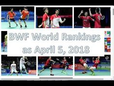 world badminton ranking