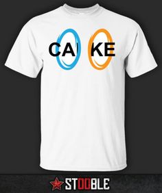 Portal-Cake-T-Shirt-New-Direct-from-Manufacturer