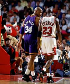 Sir Charles and his Airness.