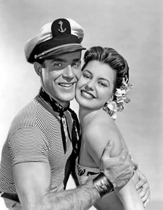 Ricardo Montalban and Cyd Charisse in On an Island With You (1948)