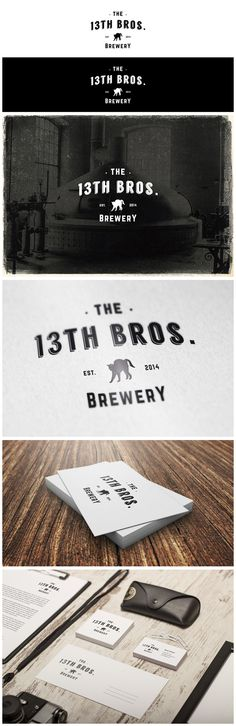 The 13th Bros. Brewery on Behance