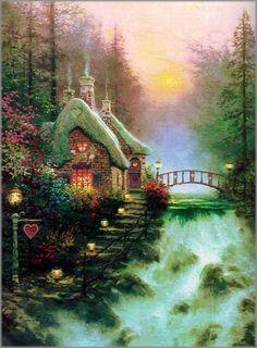 Thomas Kinkade - My very favorite TK painting.