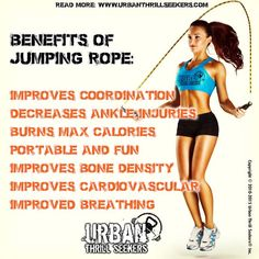 Benefits of Jumping Rope, body, fitness, health, strength