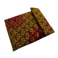 A simple yet bold iPad sleeve. www.urbanknit.com #Ankara #Handmade #African #iPad