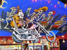 Bone Garden Cantina distinctively recognizes the Day of the Dead celebration in its restaurant's colorful interior but officially celebrates it every year since its opening. Celebrate the Day of the Dead at Bone Garden Cantina this Saturday, Nov. 3! Live music, food/drink specials and more