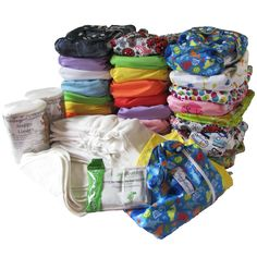 Recommended Cloth Nappy Stash now on Sale. Head to www.hippybottomus.com.au to buy it today.  24 Stay-Dry Natural Nappies, 8 extra inserts, 2 rolls of biodegradable nappy liners, 2 wetbags, 10 reusable bamboo wipes and a 6 pack of nappy bucket deodorisers!