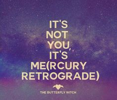 #Mercury is almost direct! #astrology