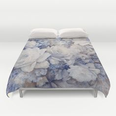 blue vintage floral Duvet Cover SOLD!thank you! Free Worldwide Shipping + 20% Off Everything - Ends Tonight at Midnight PT!