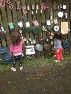 Ideas Backyard Kids Play Area Diy Music Wall For 2019 playground natural playgrounds ideas for kids playground playground ideas concept criativo Kids Outdoor Play, Outdoor Play Spaces, Kids Play Area, Backyard For Kids, Diy For Kids, Garden Kids, Family Garden, Diy Garden Ideas For Kids, Garden Ideas Eyfs