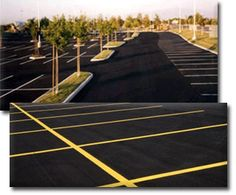 Asphalt pavement sealcoating is applied with either pressurized spray equipment, self-propelled squeegee machines, or by hand with a squeegee. As the sealer materials are continually agitated to maintain consistency, the sealer is applied. Once application is complete, the sealcoat will need 24 to 48 hours to cure before the parking area can be open to vehicular traffic. #Asphalt #Pavement #Sealcoating #ABCPaveandSeal