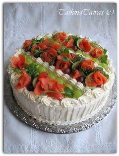 Sandwich Cake, Sandwiches, Bruschetta, Cheesecakes, No Bake Cake, Cake Recipes, Appetizers, Meals, Baking