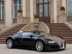 Bugatti Veyron - Hermes edition. How to make the most expensive production car even more unobtainable? Team up with Hermes!