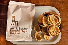 Nordic Bakery, Dark Rye Chips — Supergroup Studios