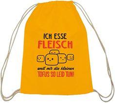 Shirtstreet24, Kleine Tofus, Baumwoll natur Turnbeutel Rucksack Sport Beutel, Größe: onesize,gelb natur - http://herrentaschenkaufen.de/shirtstreet24/one-size-shirtstreet24-kleine-tofus-baumwoll-10