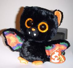 Beanie Boo Party, Ty Beanie Boos, Beanie Babies, Ty Peluche, Ty Animals, Ty Toys, Cute Beanies, Halloween Bats, Holidays With Kids