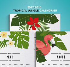 2017 2018 Calendrier imprimable