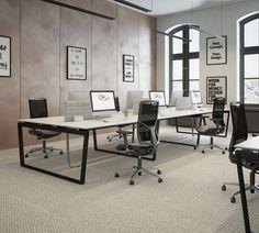 Furniko Table Occo Office Design Chair