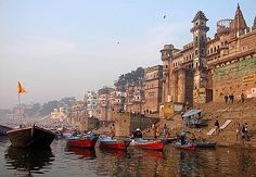 It is hard to believe that there is a place on the planet where people go to die, but it is on the sacred banks of Ganges and in the timeless and ancient city of Varanasi, that people come to await death.