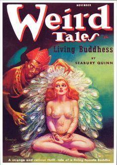 Weird Tales - Margaret Brundage art
