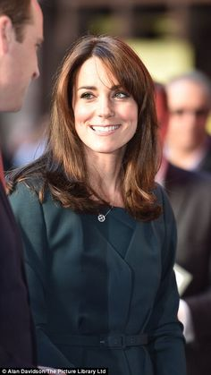 Kate showed off her new shorter hair at the fundraising event, which was also attended by Samantha Cameron and Carey Mulligan, sees the global brokerage firm donate a day's revenue and commissions to charity, with the staff dressing up to complete their trades
