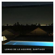 """Proyecto Mirador Lomas de lo Aguirre.   #piscinadehormigon #piscinascondiseñochile #piscinascondiseño #santiago #chile…"""" Santiago Chile, Ideas Para, Outdoor Decor, Instagram, Home Decor, Night, Projects, Interior Design, Home Interior Design"""