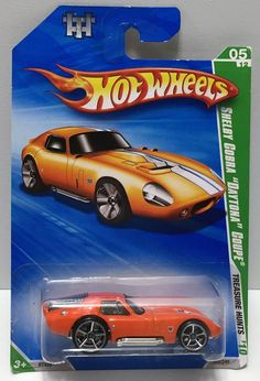 (TAS033970) - 2009 Mattel Hot Wheels Treasure Hunts Series - Shelby Cobra