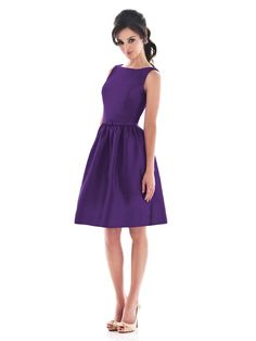 Alfred Sung Style D488  #purple #bridesmaid #dress