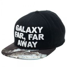 Star Wars Galaxy Far, Far Away Logo Snapback Hat #starwars #cap #scifi #fashion