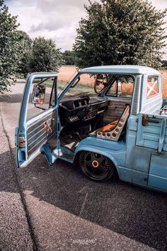 Vw Bus, Volkswagen, T3 Vw, Mini Trucks, Cool Trucks, Cool Cars, Vw Doka, Kombi Pick Up, Transporter T3