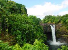 Hawaii Big Island Falls
